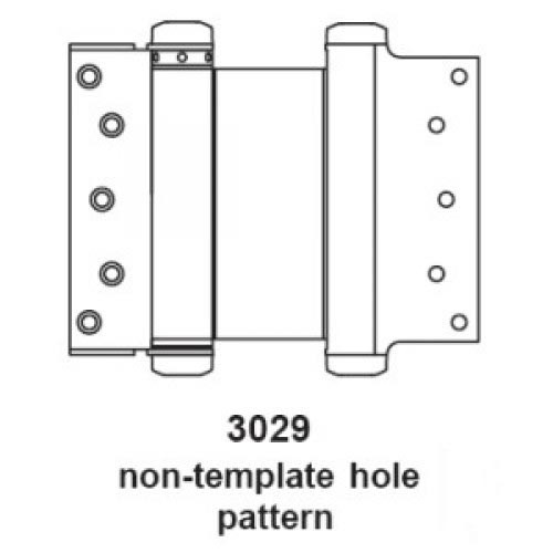 Double Swing Hinge, 3029-6 652 (PAIR)