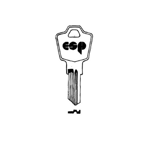Key blank, ESP ES8 for Cam Locks