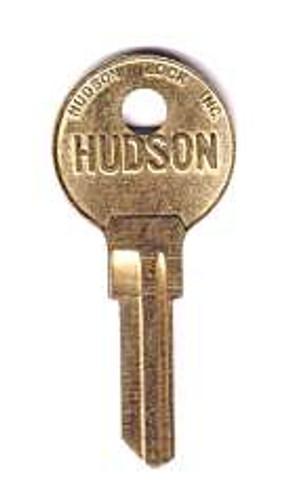 Key blank, Hudson H02L, 6-Cut