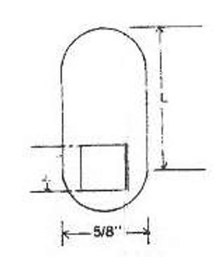 """ESP MCA-130 Flat Cam 2-1/2"""""""