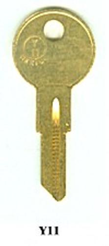Key blank, JMA YA44DE for Yale Y11