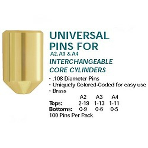 Top pins, IC A2 #2