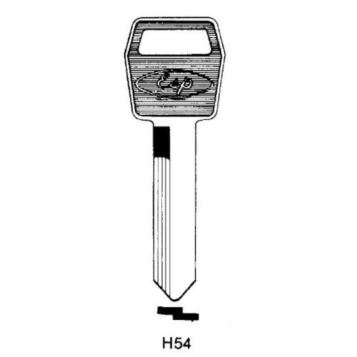 Key blank, ESP H54 Ford 10 Cut Std.