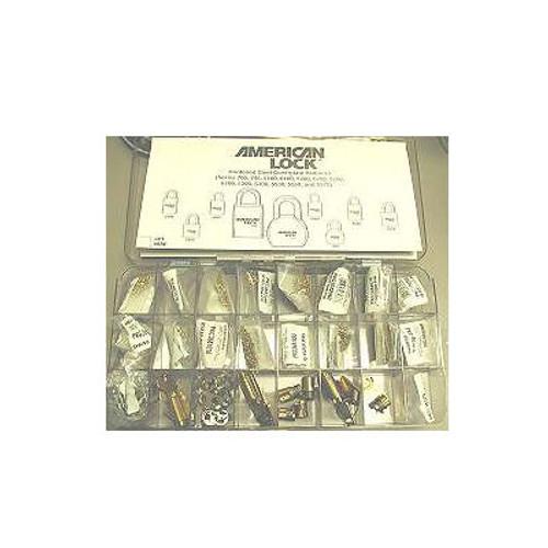 Rekey Kit, Pinning ASK8 American Padlock