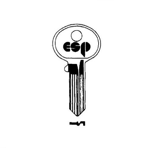 ESP HL1 Key Blank Fits Mailbox/File Cabinets 1003M