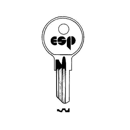 Key blank, ESP Y12/O1122A