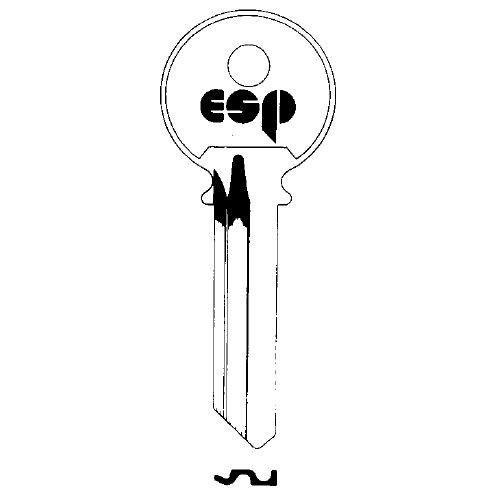 Key blank, ESP Y2 for Yale 8, 6-Pin 999A