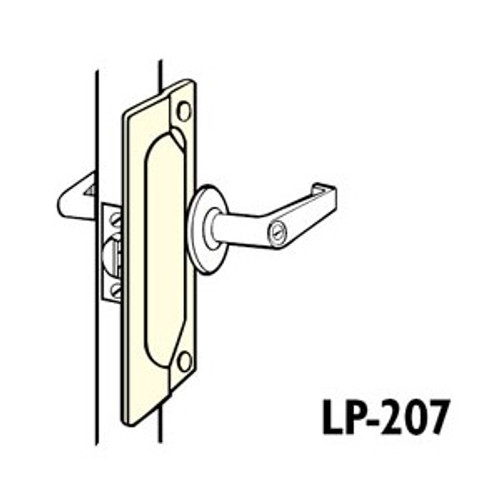 "Latch Guard, Don-Jo LP-207 DU,  7"" Dark Bronze Finish"