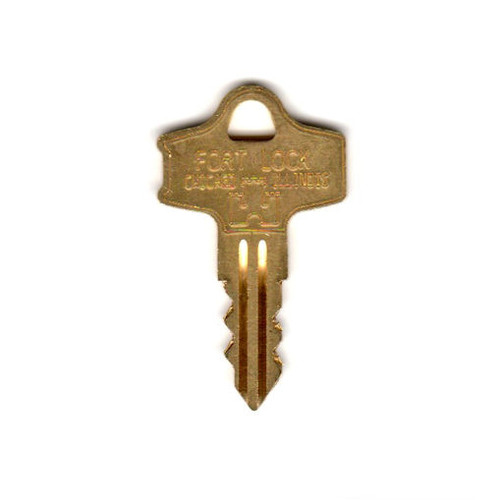 Key blank, Fort S900 for Fort Lock Double Sided