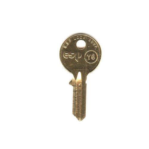 Key blank, ESP Y6 for Yale