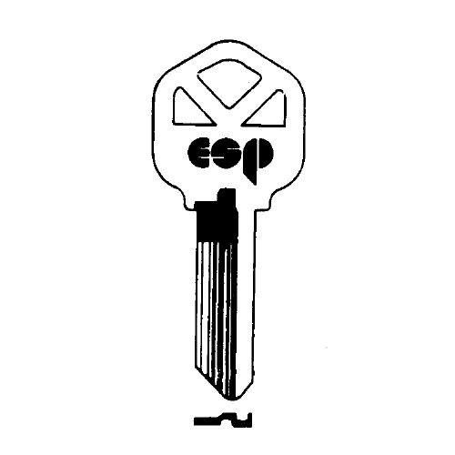 Key blank, ESP KW1 Kwikset Standard