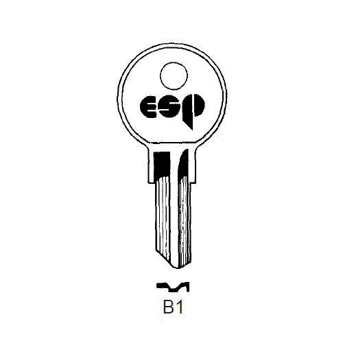 Key Blank, ESP B1 Briggs/American Motors