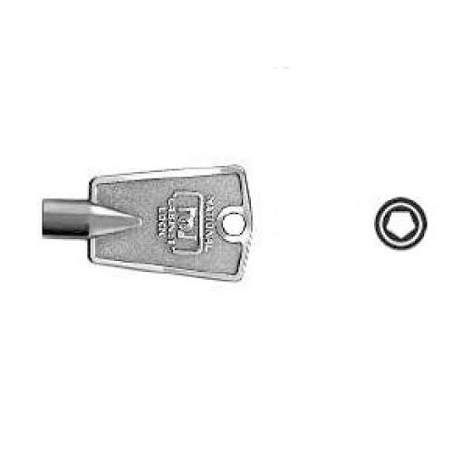 Freezer Key, Pentagon Type D8591