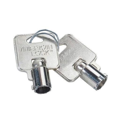 Cut Key,Tubular for American Lock AKT, Factory Order