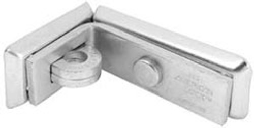 American A850 Angle Hasp 4-1/4in, Display Carded