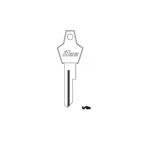 Key Blank, Ilco 1764P for Chrysler