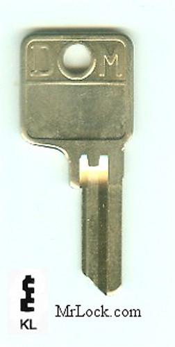 Key blank, DOM KL