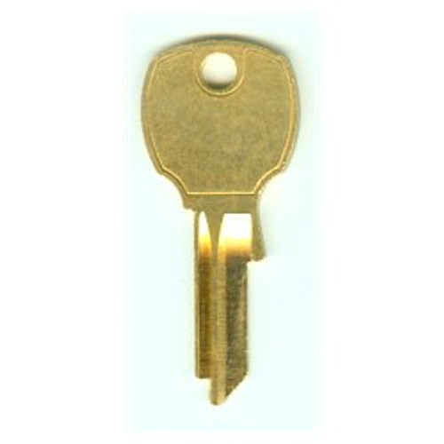 Key blank, National D4291, 4 PIN