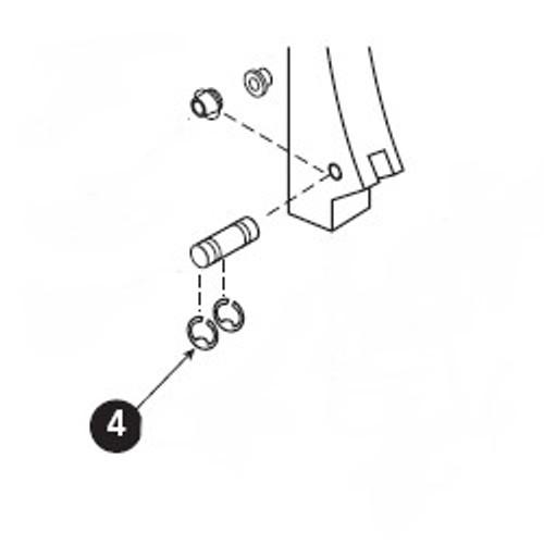 Retaining Ring .250, Dor-o-Matic RRING.109, PB4