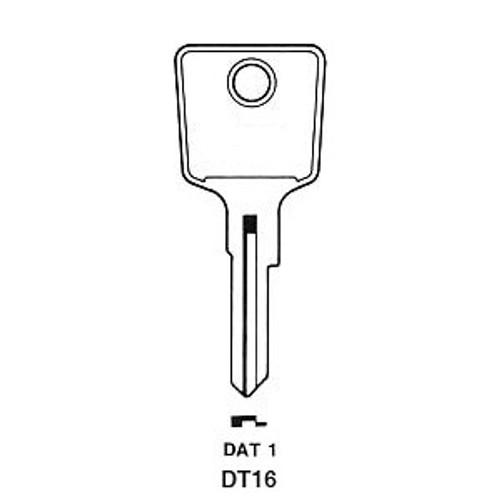 Key blank, Datsun/Nissan D80G