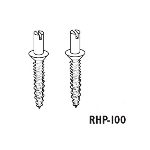 Hinge Lock Studs #10 Screw Combo Wood/Machine (2 Pack)
