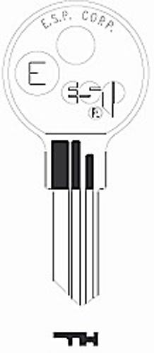 Key blank, Kimball E/QUI-K1