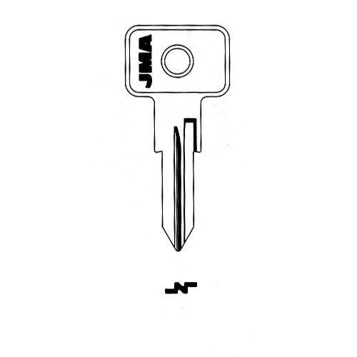Key blank, JMA FI6I for Fiat FT46/X152