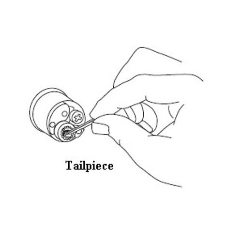 Schlage B220-036 Tailpiece, Double Cylinder locks 1.375