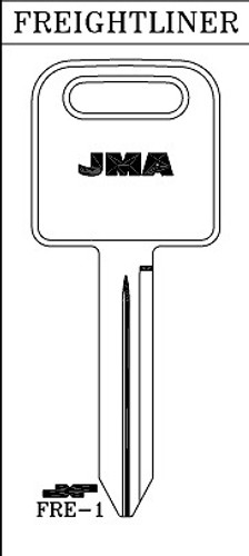 Key blank, JMA FRE1 for Freightliner 1588