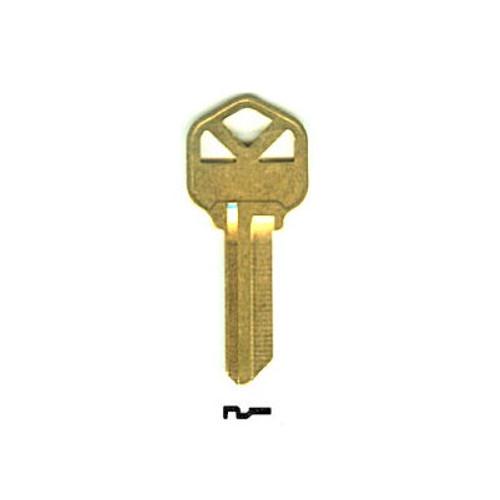 Key blank, JMA KWI1KE for Kwikset KW1