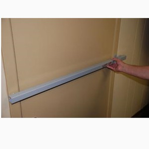 Exit Security SB-03-UV48 Exit Bar, Inswing Door UV48 for Metal Frame