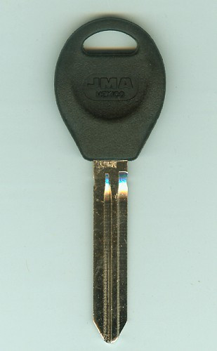 Key blank, JMA DAT16P for Nissan DA34P