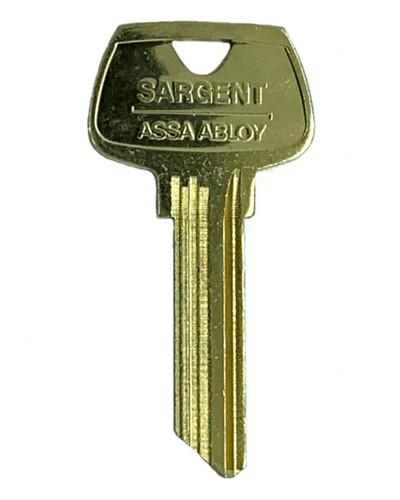 Key blank, Sargent 6275HA OEM HA 6-pin