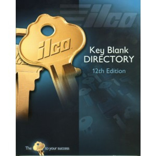 Key Blank Catalog, Ilco 12th Edition