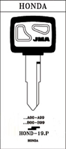 JMA HOND-19.P Key Blank for Honda HD74/X84 (RH)