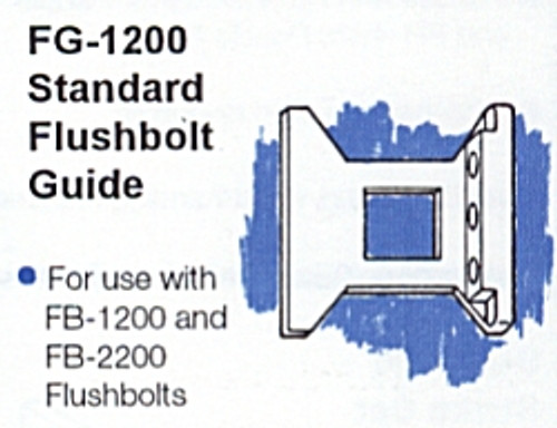 Part, Standard Flushbolt Guide