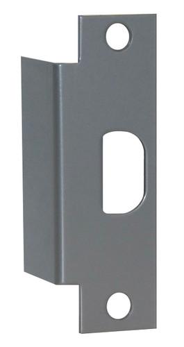 Electric Strike Filler Plate, Don-Jo AF-261-SL Silver Finish