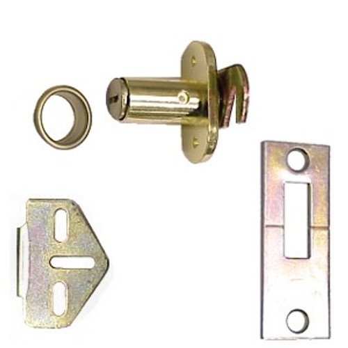 Folding Door Lock, Sterling CD-1064-B KD, Keyed Random