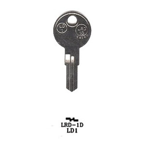 Key blank, JMA LRD1D for Larson 1639