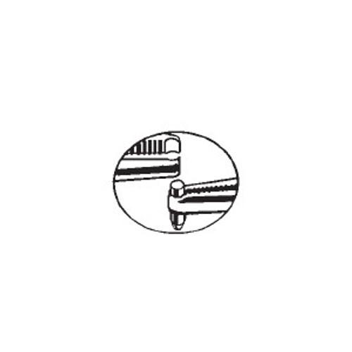HPC PTT-5 Pin Tumbler Tweezers, Compact Style