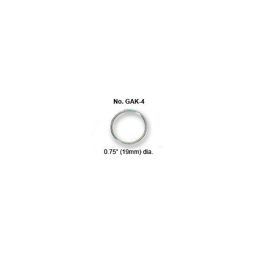 "Key ring, 3/4"" Light Wire 1000/Box"