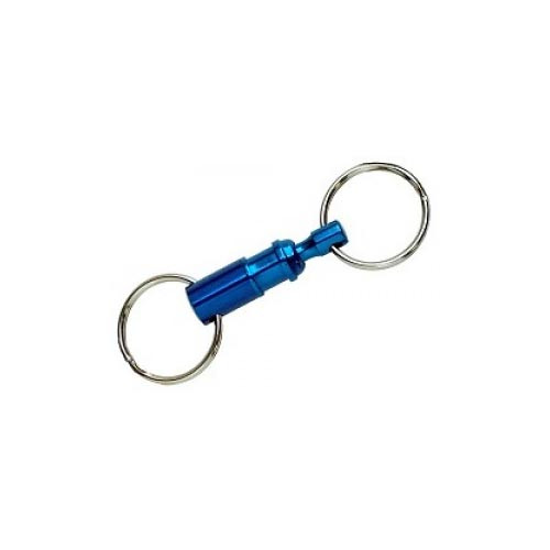 Lucky Line 70601 Assorted Color Quick Release Key Ring
