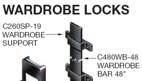Slide Bolt Guide C260SP Timberline