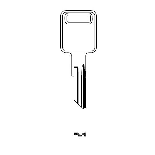 Key blank, JMA AMM3E for American Motors RA4