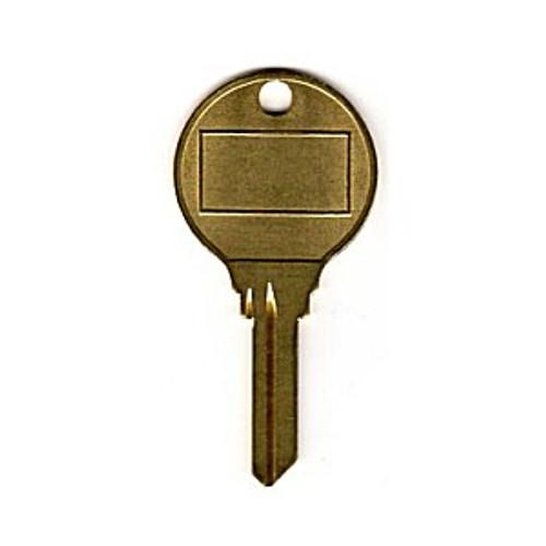 Key blank, Large Round Head SC9 Hotel Style