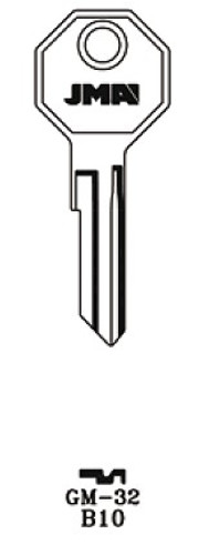 JMA GM-32 Key Blank for GM B10/H1098LA