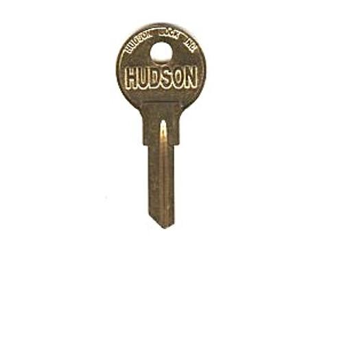 Key blank, Hudson H01L, 6-Cut
