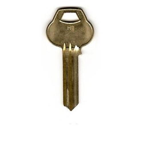 Key blank, Corbin Russwin H8 6 Pin, H8-6PIN-10