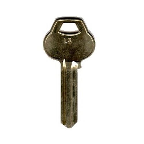 Corbin Russwin L3-6PIN-10 Key Blank, OEM L3 6 Pin