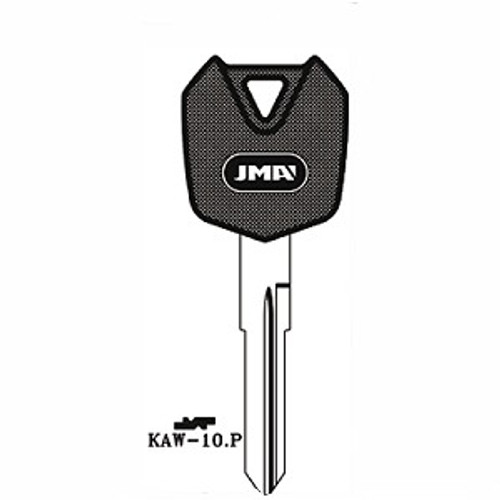 Key blank, JMA KAW10P for Kawasaki